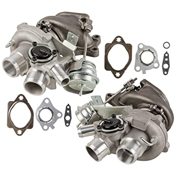 New Pair Turbo Kit With Turbocharger Gaskets For Ford F-150 EcoBoost 3.5L -