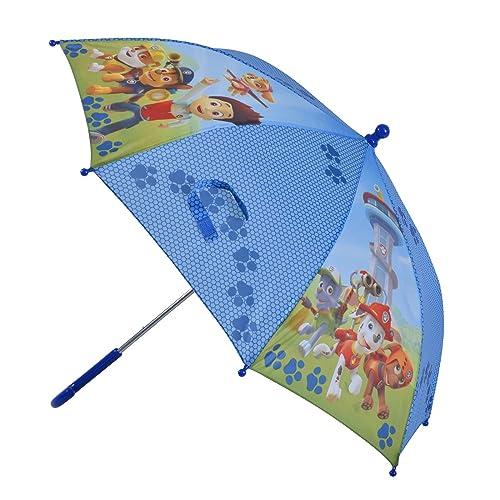 Paraguas de la Patrulla Canina de color azul, sintético, Blue/Multi, 1
