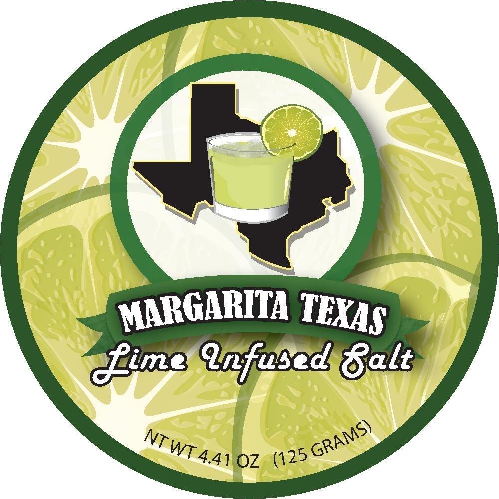 Margarita Texas Lime Infused Salt (4.41oz) by Margarita Texas (Image #1)