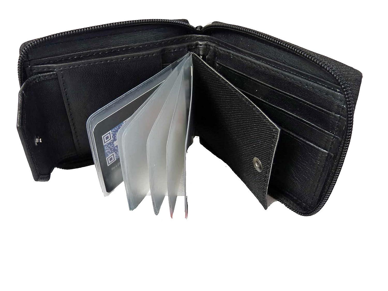 Portafoglio con zip da uomo SVENDITA R184 RL184A