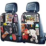 Backseat Organizer, Car Organizer Back Seat Car Organizer for Kids with USB/Headphone Slits of Back Car Seat Organizer…