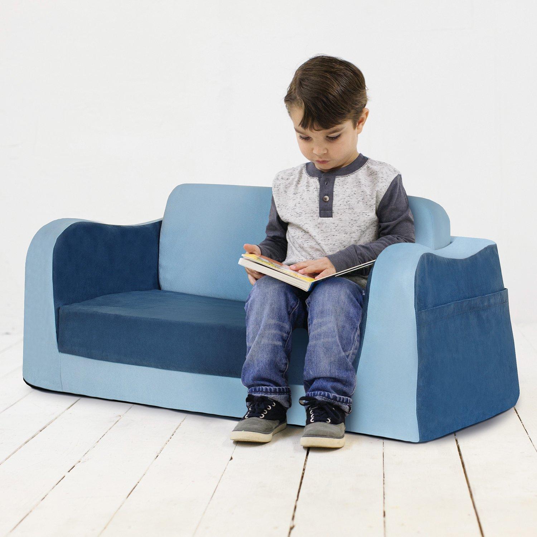 Surprising Pkolino Pkfflsabl Little Reader Sofa Blue Amazon Ca Baby Download Free Architecture Designs Sospemadebymaigaardcom