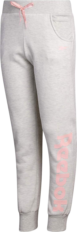 Reebok Girl's Fleece Active Jogger Pants: Clothing