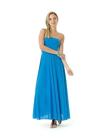 a40c4977bc Lagaci Women's Super Soft Two-Way Convertible Maxi Dress & Skirt at Amazon  Women's Clothing store: