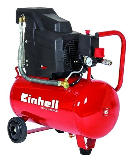 Einhell Compresor lubrificato a Aceite TC-AC 190/24/8 - 1,5 ...