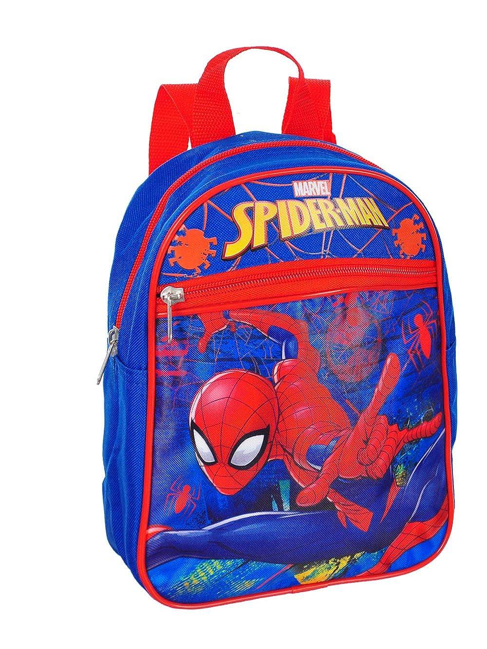 "Amazon.com: Marvel Spiderman 10"" Mini Mochila: Clothing"