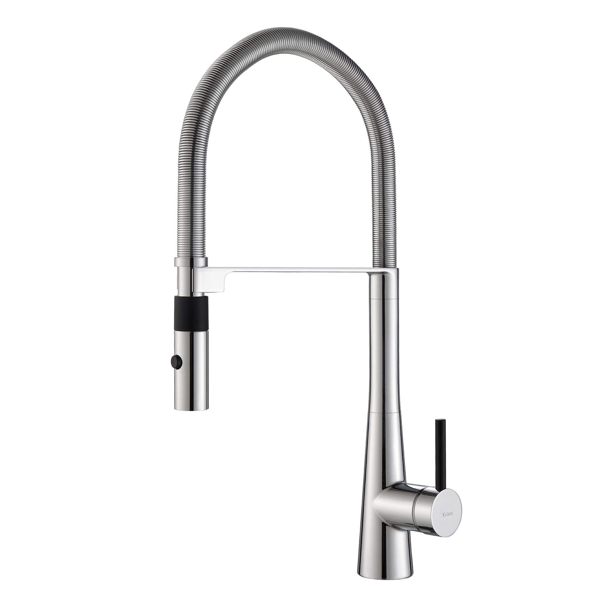 Kraus Kpf-2730Ch Modern Crespo Single Lever Commercial Style Kitchen Faucet W.. 24