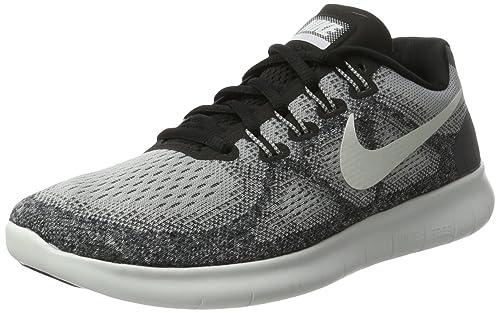 reputable site 0de4b 93684 Nike Free Run 2017, Scarpe Running Donna, Multicolore (Wolf Grey off White