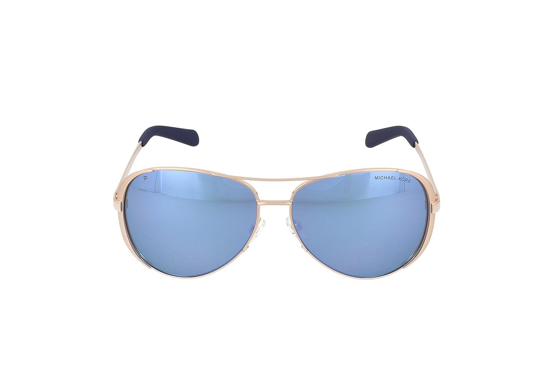 372f989876846a Michael Kors Chelsea Aviator Sunglasses at Amazon Women s Clothing store