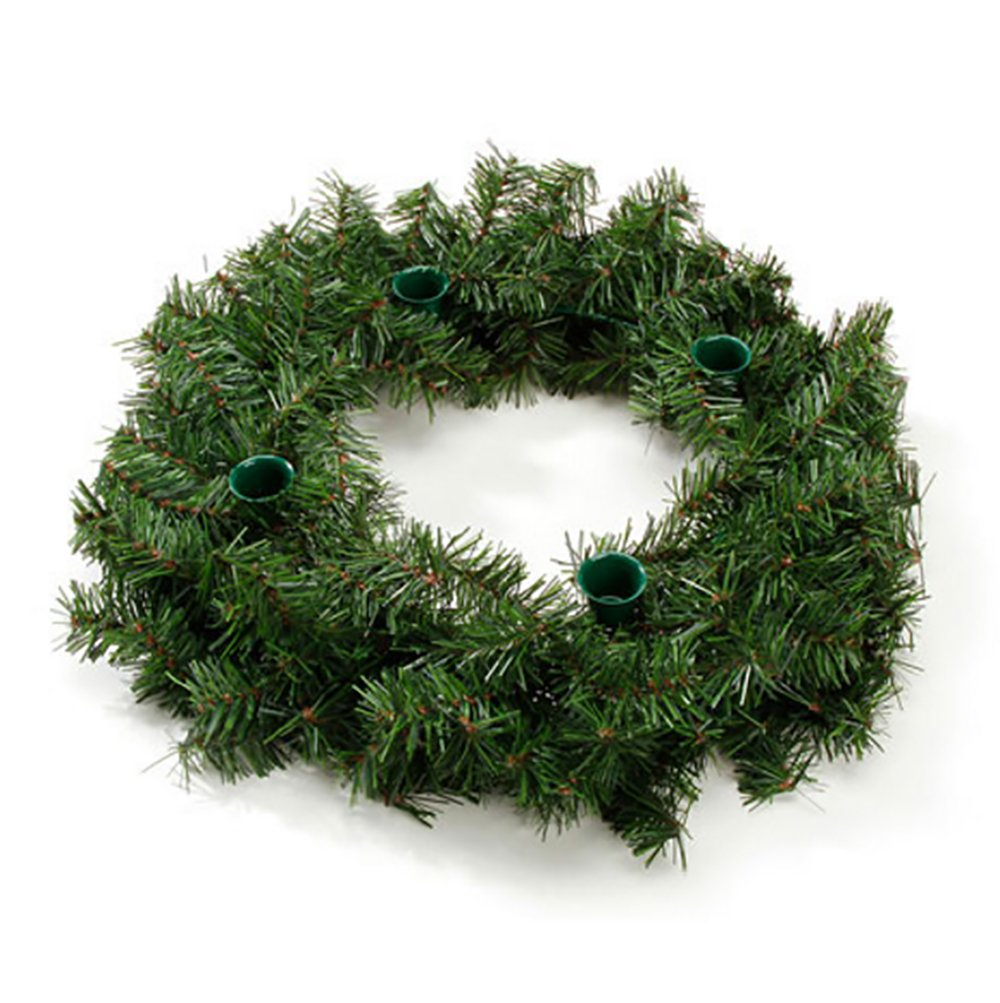 RetailSource Advent Wreath - 160 Tips - 46 cm (1 pack) DC-2458