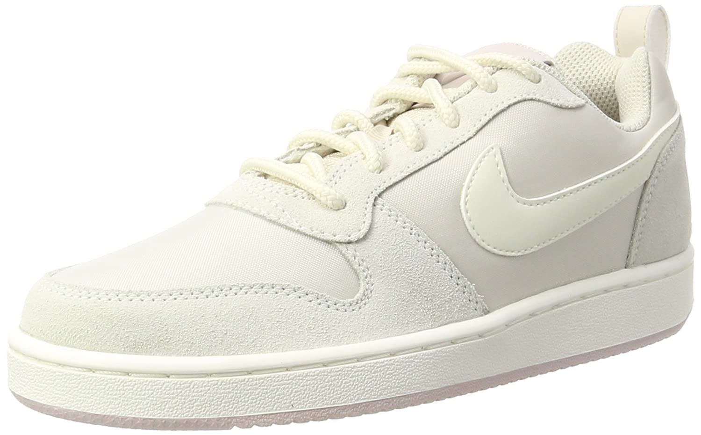 Nike W Court Borough Low Prem, Zapatillas de Gimnasia para Mujer 38.5 EU|Beige (Lt Orewood Brn/Sail/Silt Red)