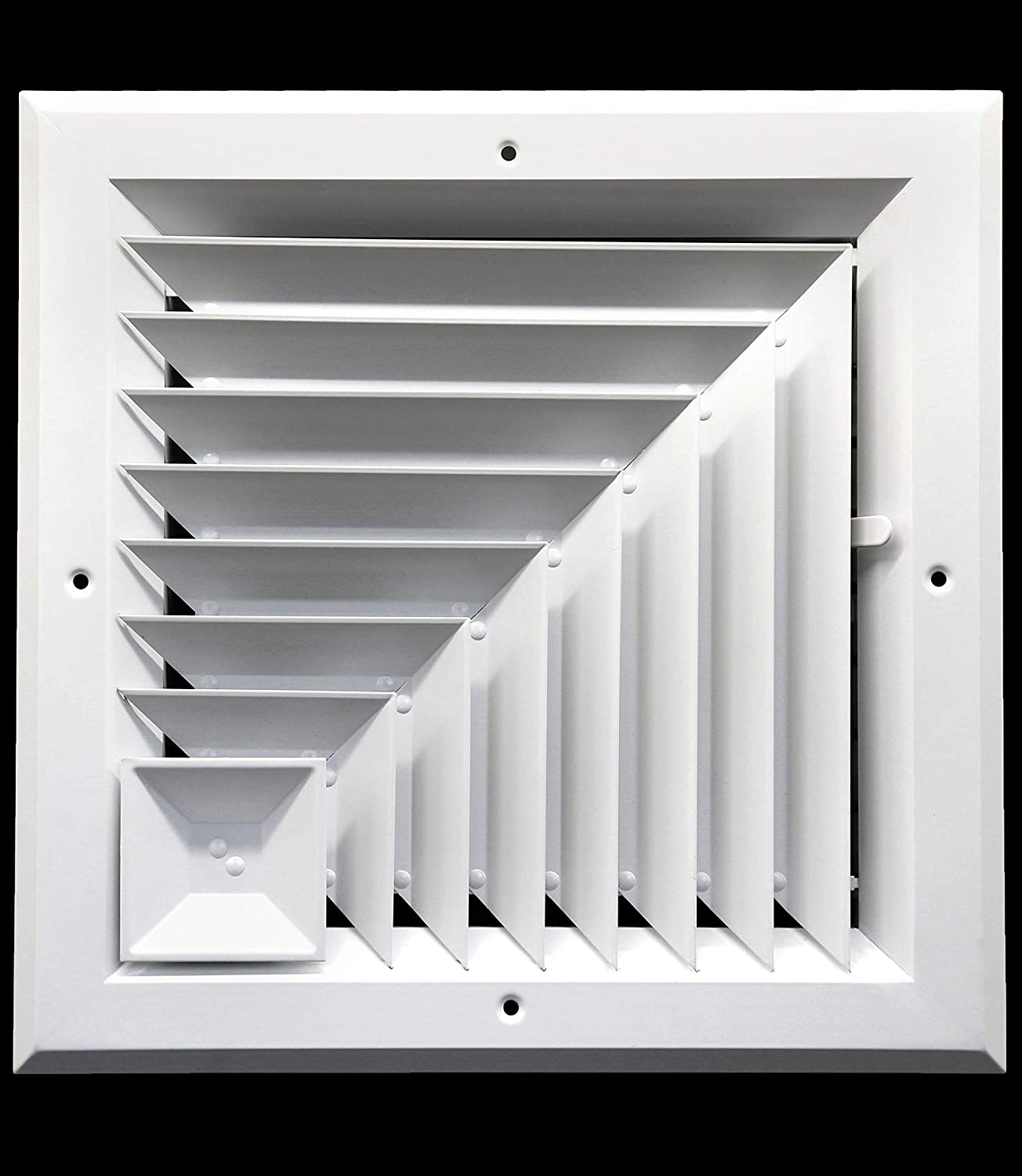 Ranking TOP7 6 x in HVAC Vent Cover Extruded Aluminum - Direction Corner Now on sale