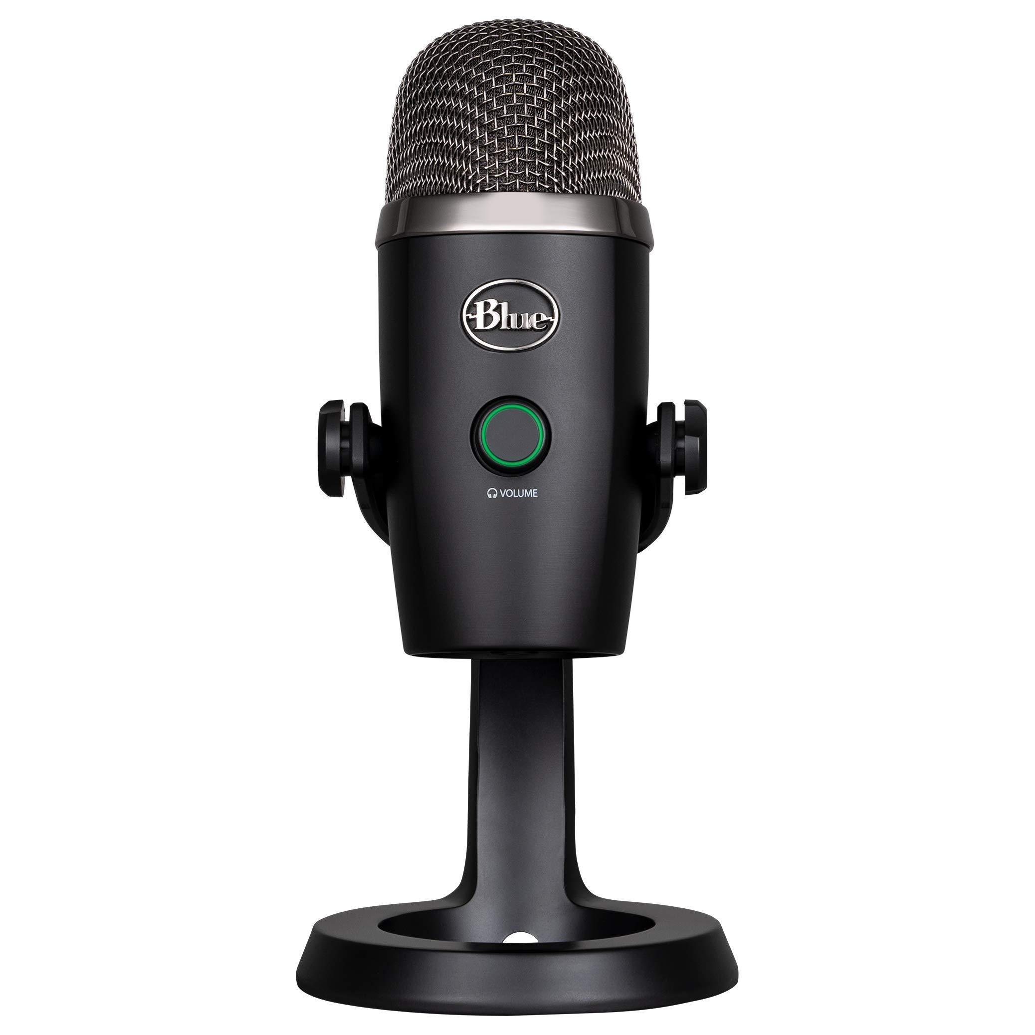 Blue Yeti Nano Premium USB Mic for Recording and Streaming-Blackout (1639)