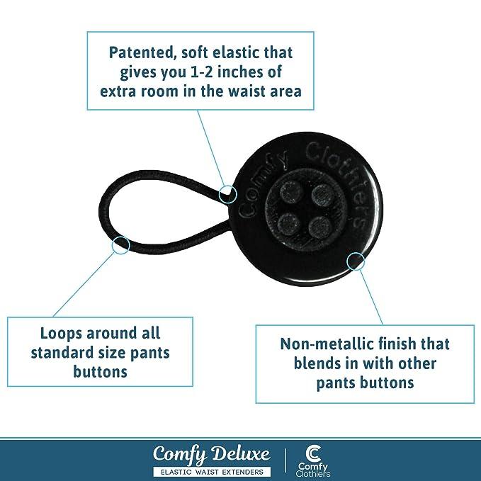 Amazon.com: Comfy Deluxe - Extensores de cintura - Premium ...