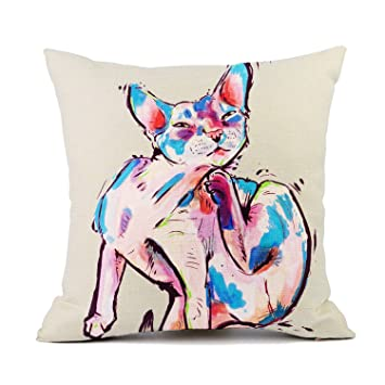 Amazon.com: Redland Art Cortar mascotas gato manta fundas de ...