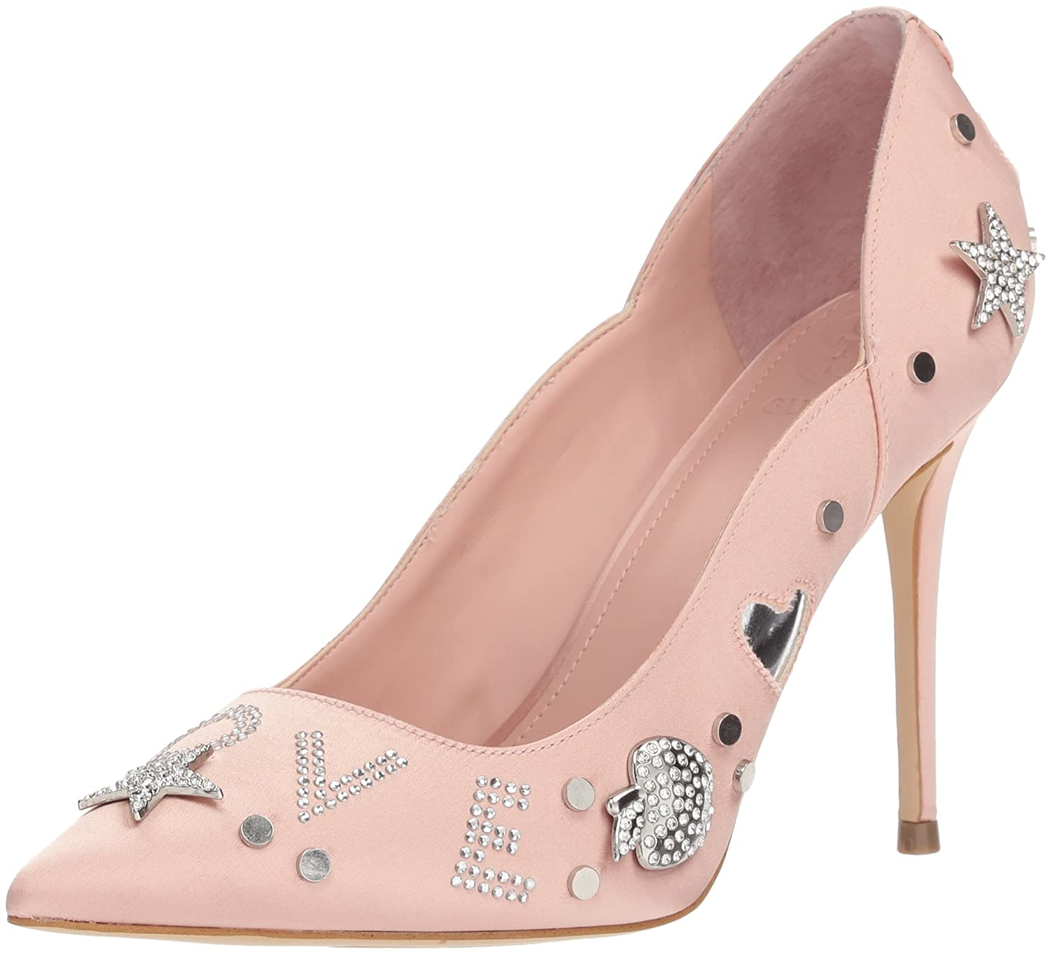 GUESS Women's Belle Pump B0774RLV9P 9 B(M) US|Blush