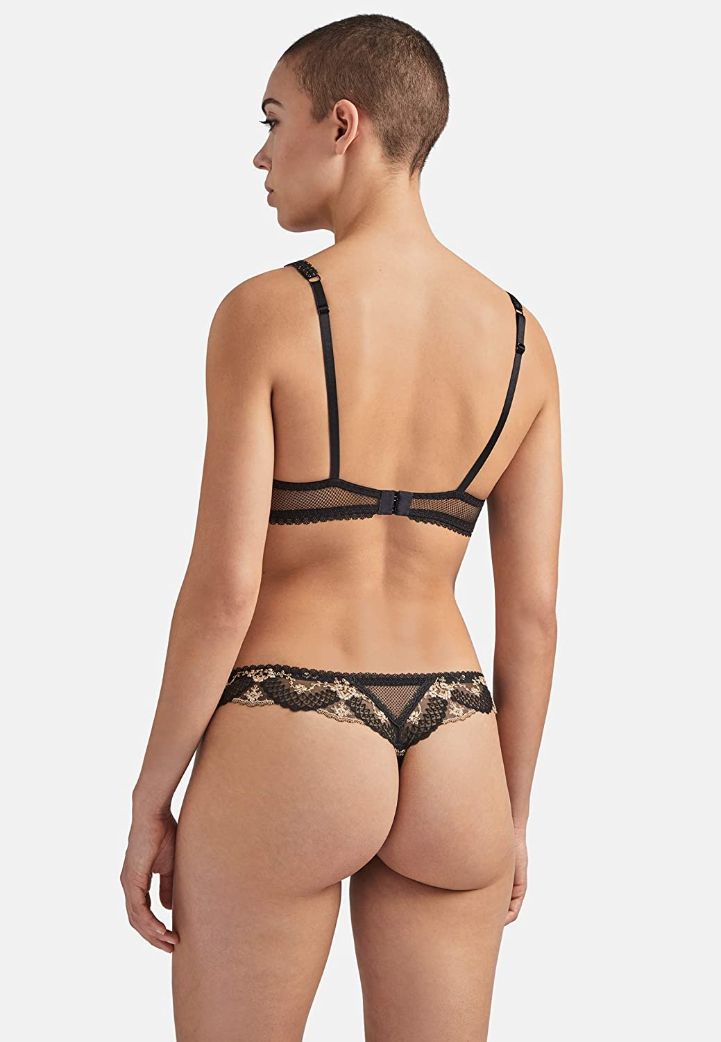Aubade Womens Belle GALANTE Thong Panties