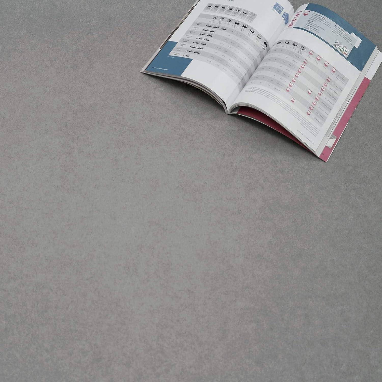 PVC Bodenbelag Beton Salzburg 593 Objekt 31 Breite: 200 cm x L/änge: 100 cm 13,95 /€ p.m/²