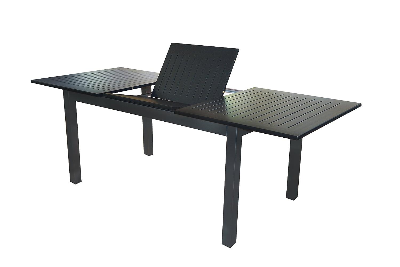 Voll Aluminium Auszieh-Gartentisch
