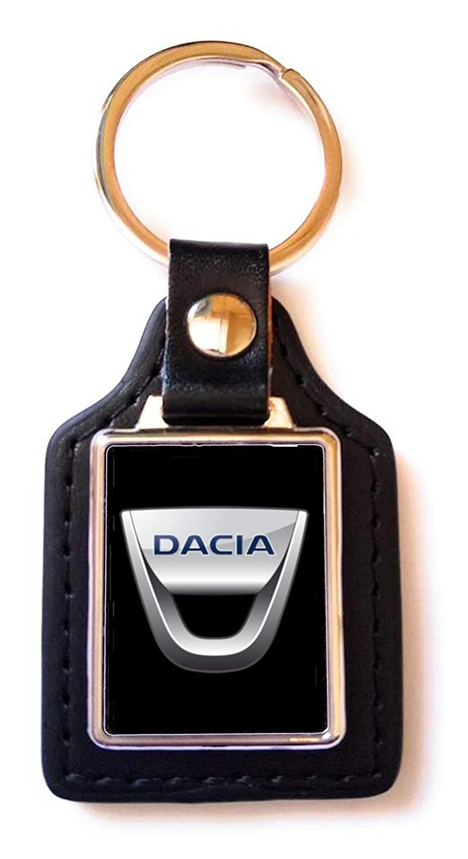 Print Corner Porte-cl/és Luxury Acier//Simili-Cuir Dacia Noir
