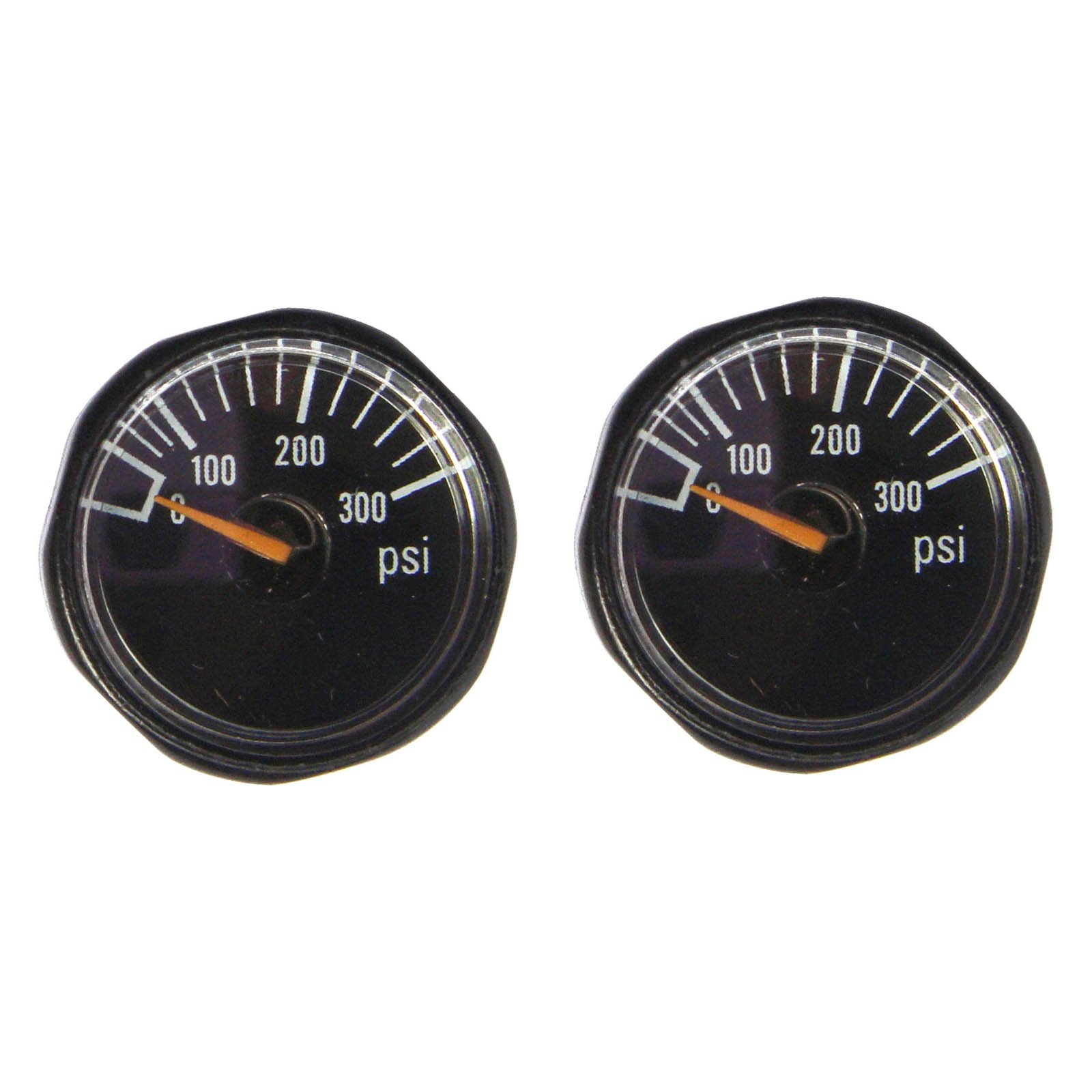 GFSP Outdoor Sports New 300/600/1500/3000/5000 PSI Paintball Micro Gauge,Diameter 25mm,1/8-27NPT (300 PSI) by GFSP Outdoor Sports