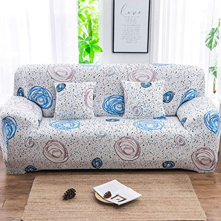 Funda elástica para sofá de Sillón Acolchado Tela transpirable antiácaros algodón Sillón cálida y Suave bielástico Extraíble de Limpiar Duradera 1/2/3/4 Plazas Antideslizante Todo Incluido Lavable: Amazon.es: Hogar