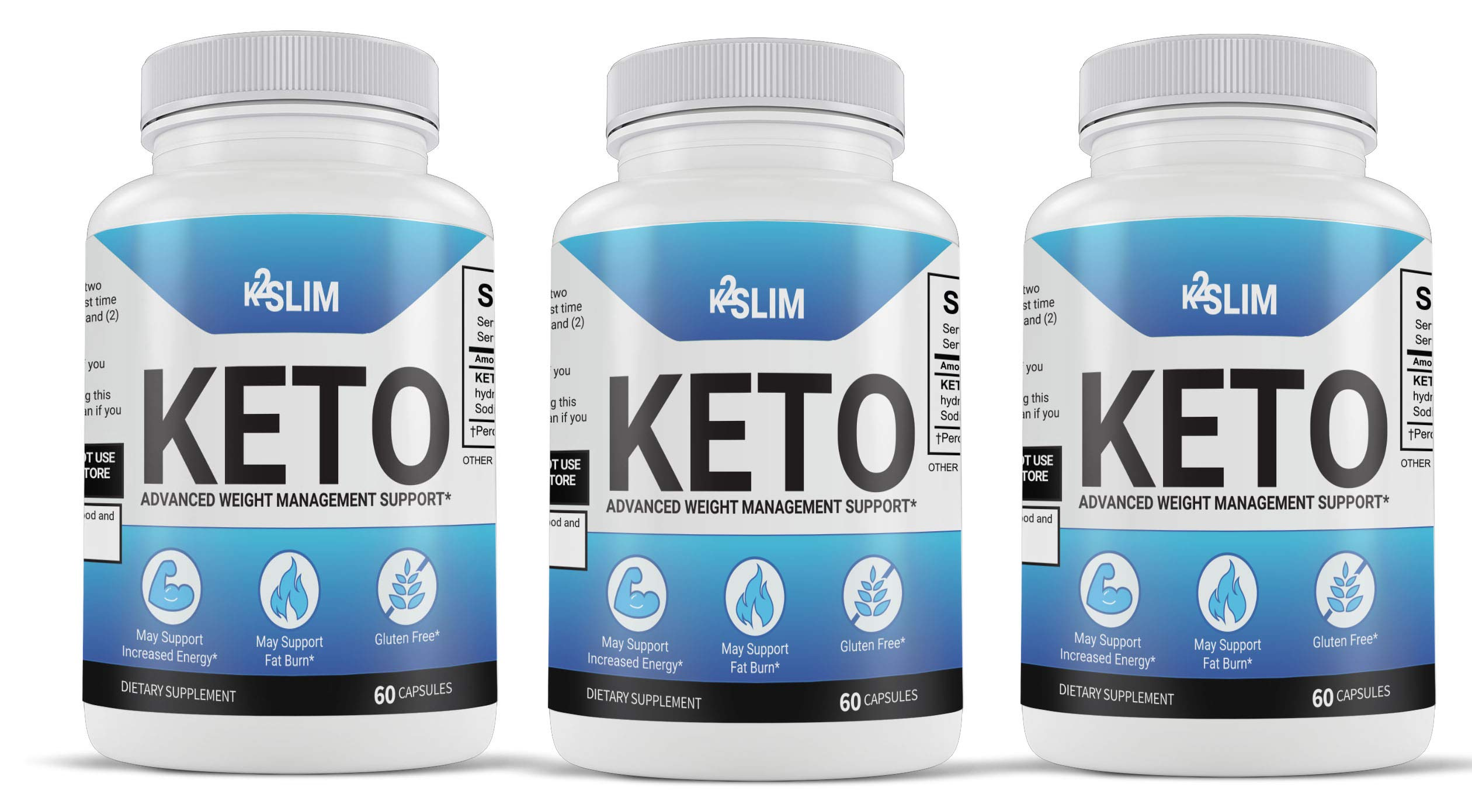 K2 Slim Keto Triple Pack