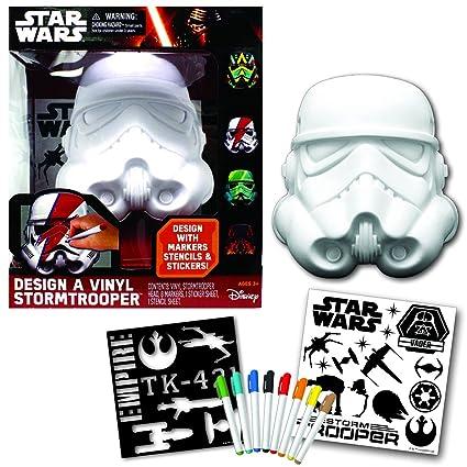 Amazoncom Star Wars Deluxe Design A Vinyl Storm Trooper Play Set