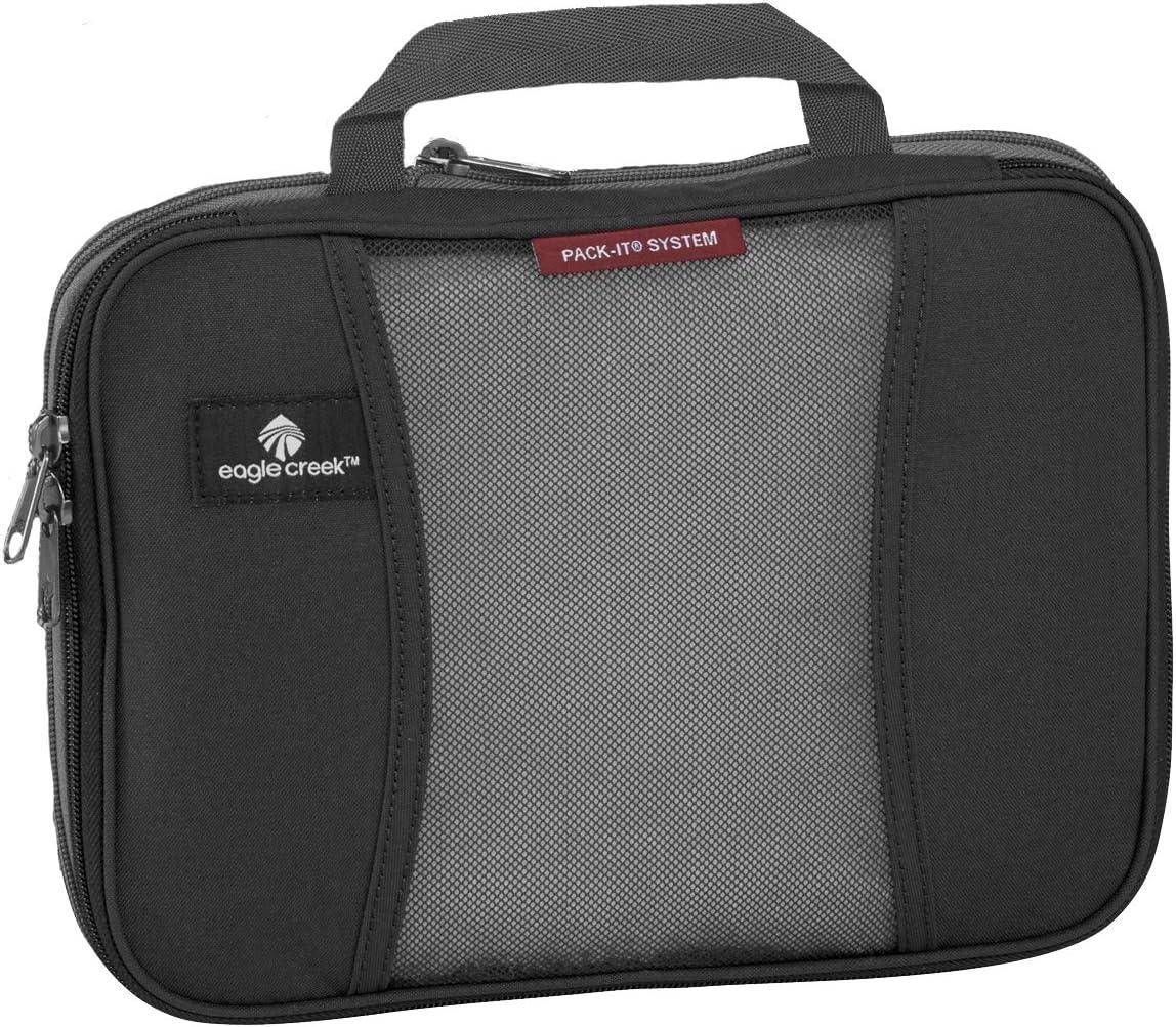 Eagle Creek Packtasche Pack-It Original Compression Half Cubes platzsparende Kofferorganizer f/ür Die Reise Organiseur de Bagage 6.9 liters Noir 26 cm Black