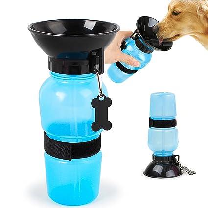 BOENTA Botellas de Agua para Perros Botella de Agua dispensador de Agua Potable para Mascotas al