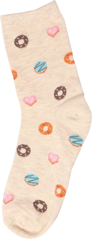 Womens Novelty Colorful Casual Cozy Cotton Crew Socks No Slip Cute Ladies Socks