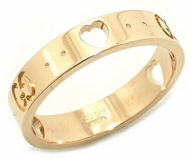 quality design fc219 2d418 Amazon | [グッチ] GUCCI アイコンアモールリング 指輪 13号 #13 ...