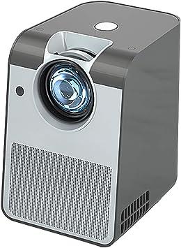 Opinión sobre 1080P Full HD Proyector Hogar Mini Proyector Portátil Proyector Multifunción Gris