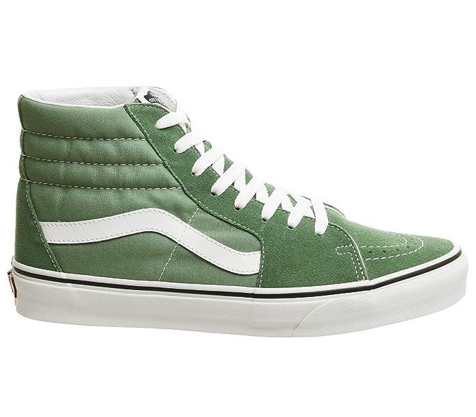 Vans Unisex-Erwachsene SK8-Hi Hohe Sneakers Grün Deep Grass