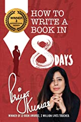 How to Write a Book in 8 Days Hardcover