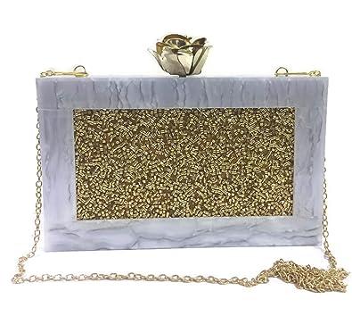 Amazon.com: Monedero de resina para novia, hecho a mano ...