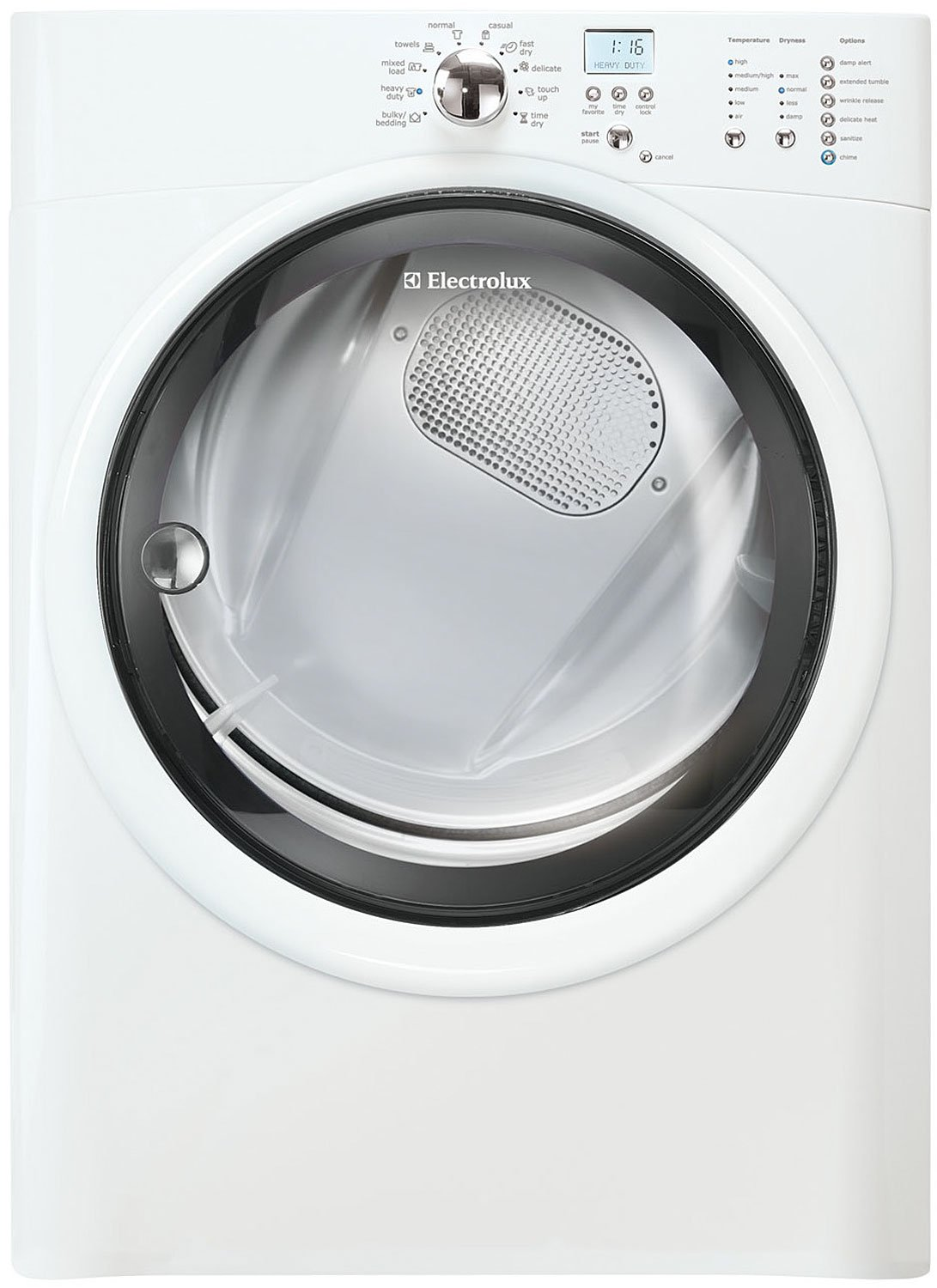 amazoncom electrolux 80 cu ft white stackable electric dryer appliances - Best Rated Washer And Dryer