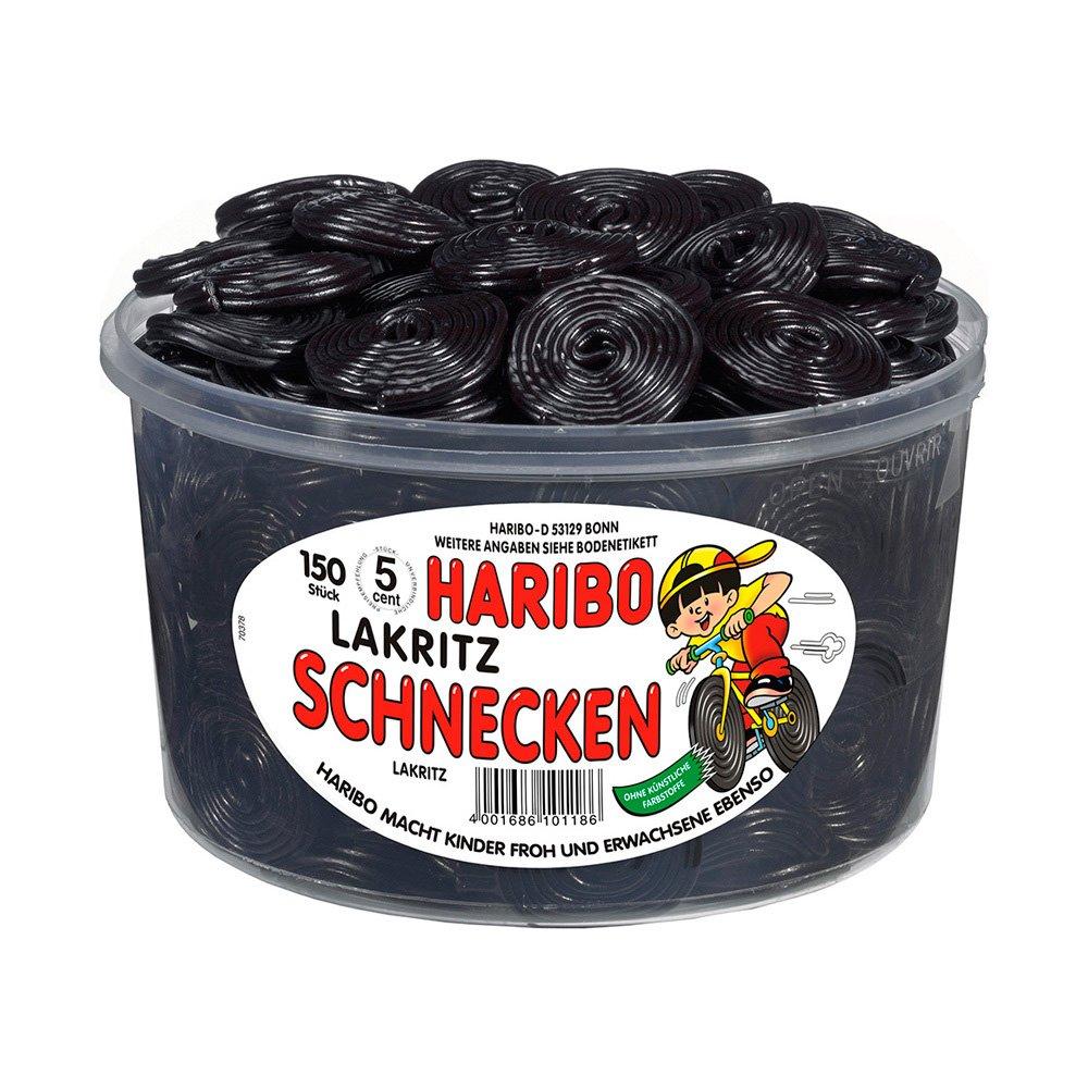 Haribo Lakritz-Schnecken (licorice wheel) 1,5 Kg by Haribo