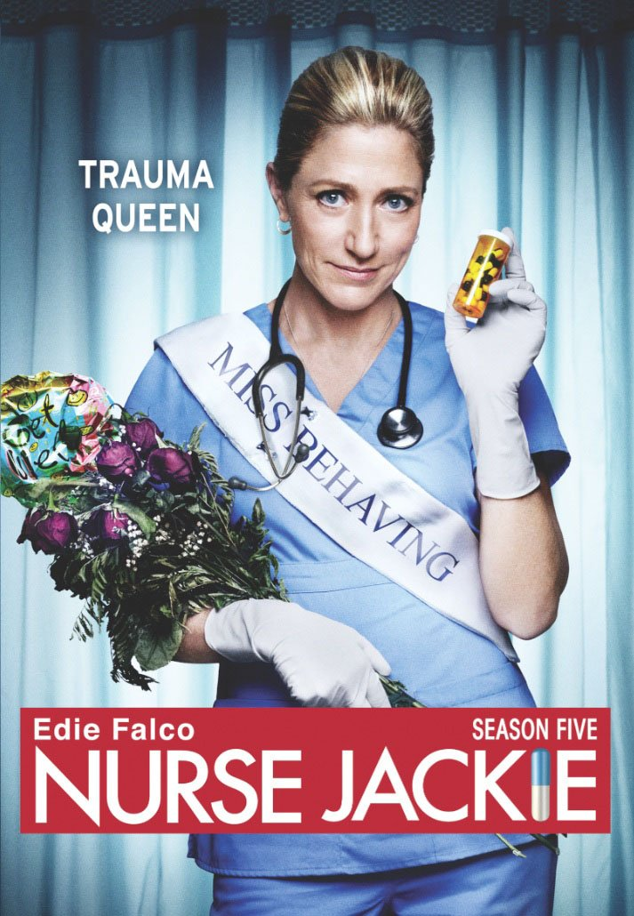 DVD : Nurse Jackie: Season Five (AC-3, Widescreen, 3 Pack, Subtitled, Dolby)