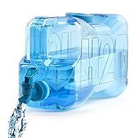 Balvi - H2O dispensador de Agua con Capacidad DE 5,5 litros en plástico PETG