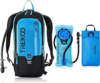 TREKOO 10L mochila de hidratación para bicicleta mochila con ...