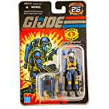 "G.I. JOE Hasbro 25th Anniversary 3 3/4"" Wave 4 Action Figure Cobra Air Trooper [Elite Infantry]"