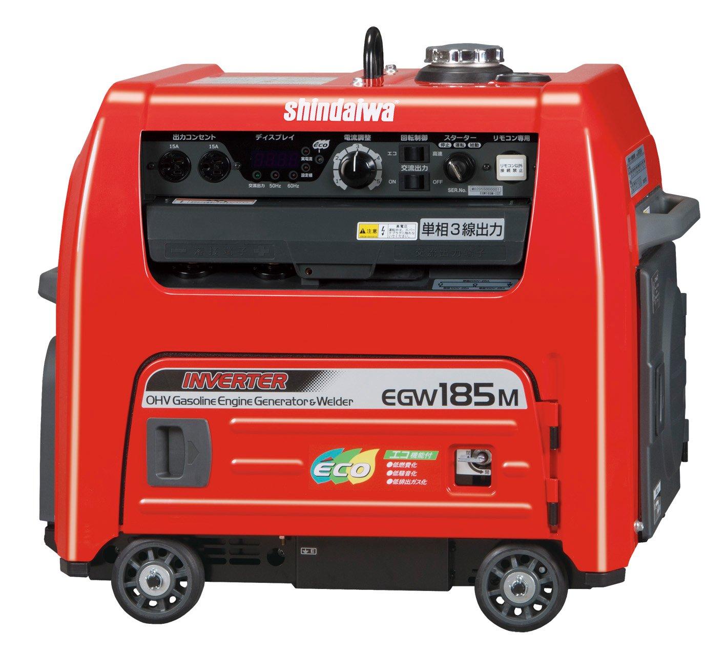 やまびこ産業機械 新ダイワ EGW185M-I 発電機兼用溶接機(ガソリンエンジン)