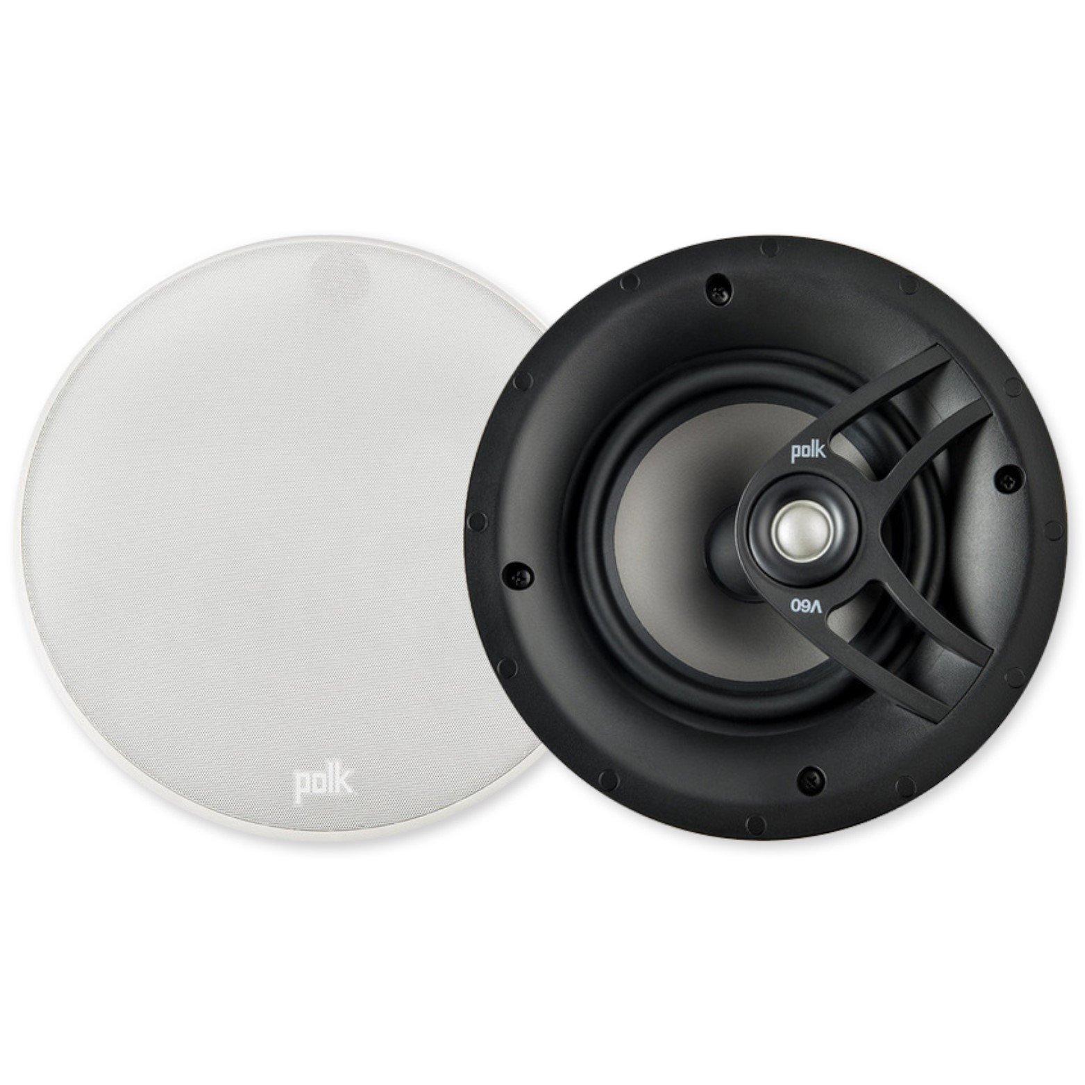 Polk Audio V60 High Performance Vanishing In-Ceiling Speakers (Pair)
