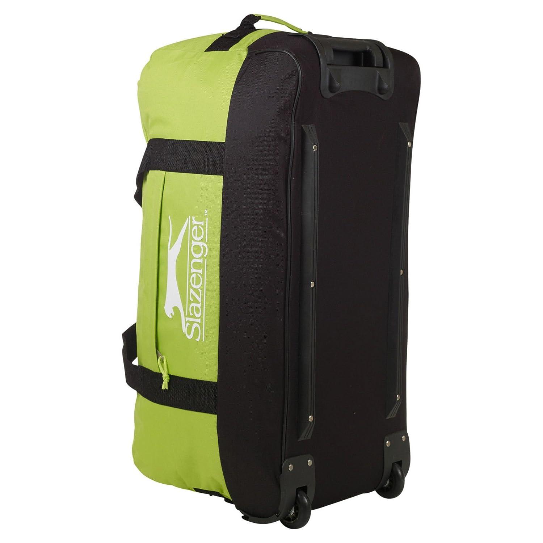 Slazenger Lightweight Trolley Sports Gym Travel Bag With Wheels Amazoncouk Luggage