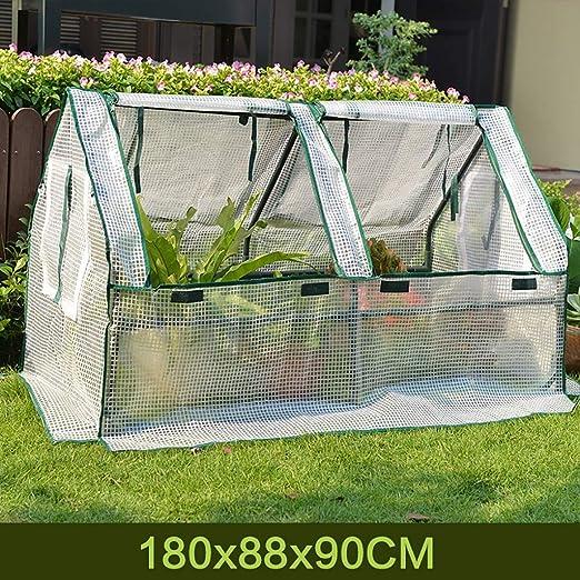 TWS Aislamiento al Aire Libre del jardín del Invernadero Que Cubre la Lluvia PE 180 * 88 * 90CM: Amazon.es: Hogar