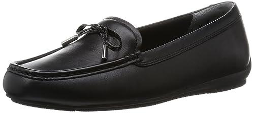 Rockport TMD Bow Moc, Mocasines para Mujer, Negro, 36 EU: Amazon.es: Zapatos y complementos