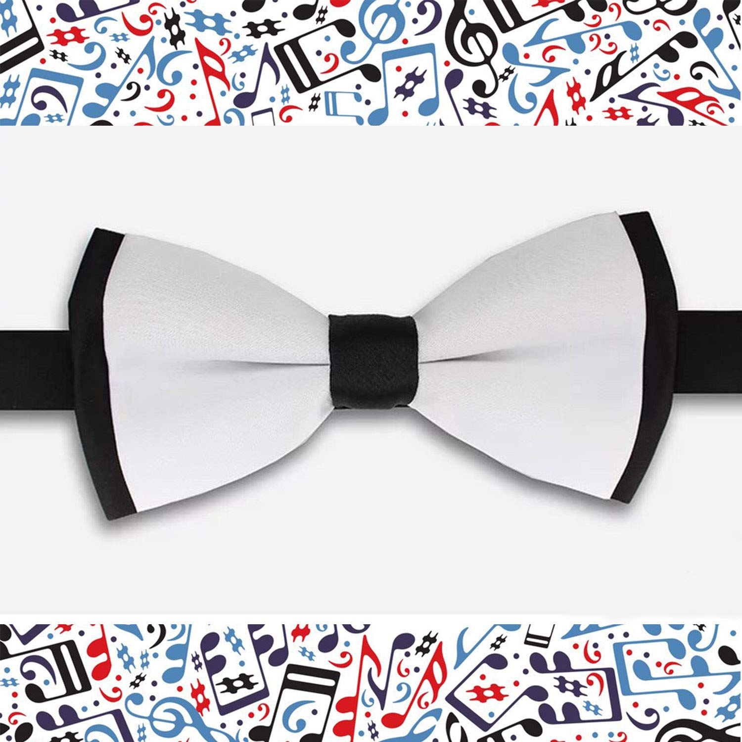 Bow Tie for Men Tuxedo /& Wedding Solid Color Eyeball Winter
