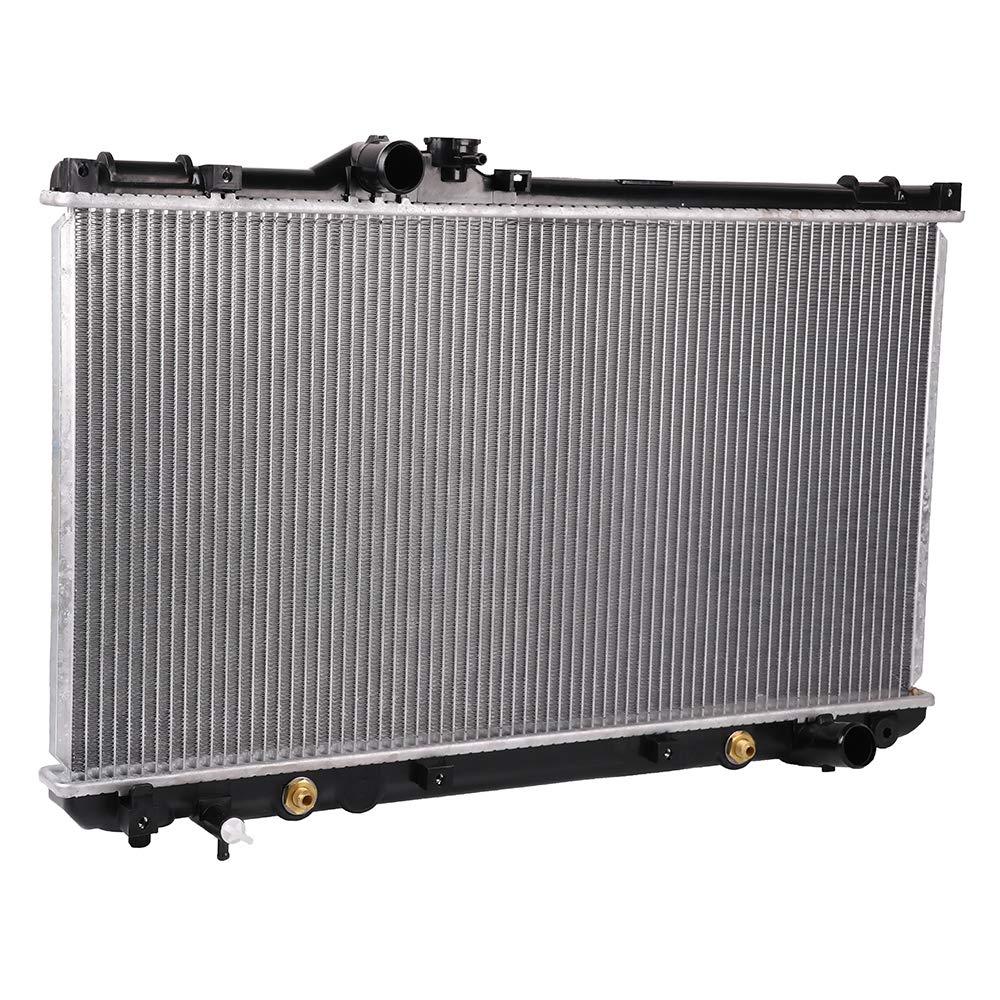 OCPTY Aluminum Radiator Replacement fit for 2001-2005 Lexus IS300 3.0L 2356