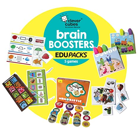 Buy Creative Game Educational Fun Games 2 To 5 Years Old Super Birthday Present Or Return Gift Activity Brain BOOSTERS Value Pack Online